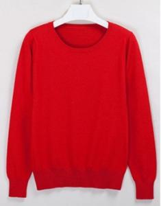 China Round Neck Turtleneck Sweater for ladies on sale