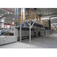 China Customized Color Continuous Brazing Furnace , Industrial Furnace Brazing Aluminum on sale