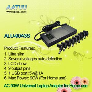 China 90W Universal Notebook AC Adapter Made in China AATUU Factory ALU-90A3S on sale