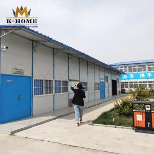 China Light Steel Frame Prefab House Prefab Modular Homes For Staff Toilet And Shower on sale