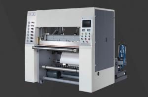 Quality High Speed Fax Paper Slitting Machine QF-600F Automatic Paper Roll Rewinder for sale