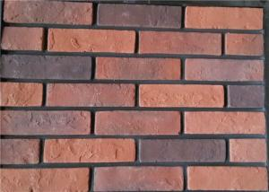 China Steam - Crued Faux Brick Veneer Exterior Thickness 10-15mm With Cement / Pigment on sale