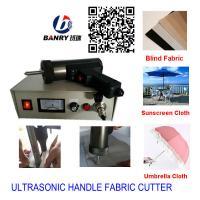 vertical blind fabric rolls welding ultrasnic cutter