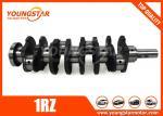 Steel Forging Engine Crankshaft Used In Toyota 1RZ 13411-75900 1341175900