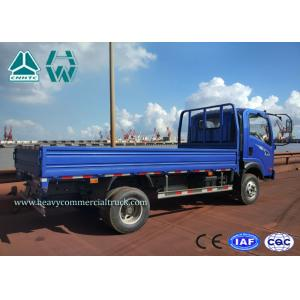 China Low Fuel Consumption Mini Heavy Cargo Trucks 1.5 - 3 Ton / Left Hand Drive on sale