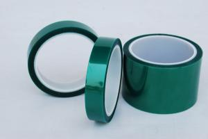 China Green Polyester Powder coating masking tape on sale