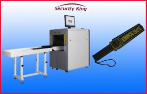 China Auto Alarm X Ray  Security Scanner , Airport Security Scanners with Handheld Metal Detector on sale