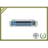 China Metal Fiber Optic Distribution Box , 2U 36 Ports Network Optical Distribution Cabinet on sale