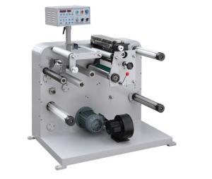 China LC-320/450 F/Q series Automatic Label Slitter Rewinder narrow scope paper aluminum foil opp pvc pet bopp film ect on sale