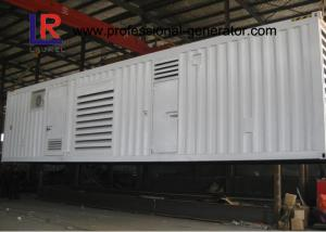 China CE Approved Water Cooled Container Genset with Brushless AC Three / Single Phase on sale