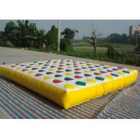 Leak Proof Inflatable Tumble Track Gymnastics Cheerleading Inflatable Mat 1.8m Width