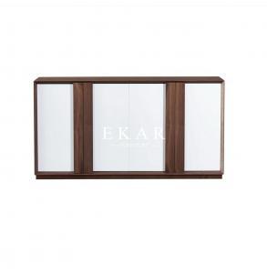 China Modern Furniture Side Cabinet Walnut Wooden Solid Wood Sideboard  KSL-GA003 on sale