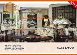Quality Wholesale Made In China Antique Cheap Used Bedroom Furniture Set  For Sale For Sale