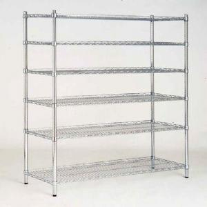 China 6 Tier Adjustable Industrial Wire Sheling Office Wire Racking Industrial Storage Solutions on sale