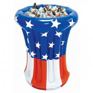 China Inflatable ice bucket and ice cooler on sale