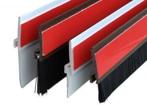 China Sliding / Roll Up Door Bottom Sweep Weather Seal Strip Brush Dustproof Windproof on sale