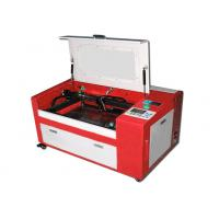 China 2 Head CNC Fabric Cutting Table Roll Materials Co2 Engraver With Feed Rack on sale