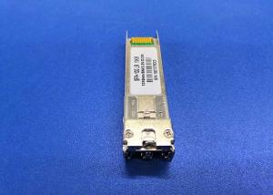 China 20KM BIDI SFP+ TX1330nm DFB RX1270nm 10G Ethernet SFP Module LC Connector on sale