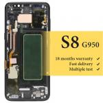 wholesale For Samsung S8 G935/ G950F lcd screen with frame  display replacement assembly