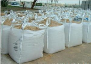 China White color 2 ton tote FIBC Bulk Bag for limestone by sincere factory/supplier/manufacturer with best price on sale