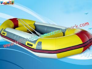 China Transportar de rio inflável personalizado da tela de encerado do PVC dos brinquedos do barco de 0.9mm on sale
