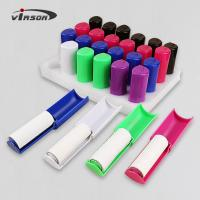 China Sticky paper cloths cleaning pocket foldable mini lint roller on sale