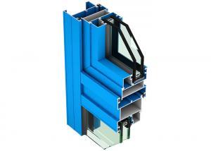 China Customized Anti Oxidation Aluminium Window Profiles 8um - 10um Film Thickness on sale