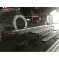 China Water Proof UV Resistant Geodesic Dome Tent With Clear PVC Windows on sale