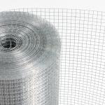 Silver Color Electro Galvanized Welded Wire Mesh For Construction Industry