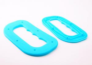 China Snap Seal Plastic Shopping Bag Handles , Custom Color Merchandise Bags Carry Handle on sale