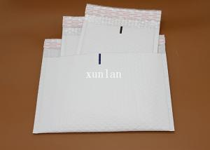China White Recyclable Poly Bubble Mailers Offset Printing For Express Delivery on sale