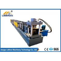 Easy Maintenance Pallet Rack Roll Forming Machine Making Warehouse Supermaket With Manual Decoiler