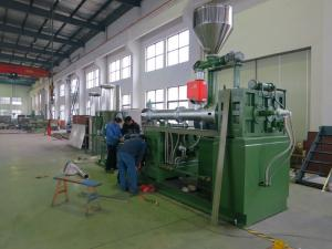 China 0.5mm - 0.8mm Planetary Roller Extruder Plastic Pellets Making Machine on sale