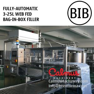 China Fully-automatic 3-25L BIB Post Mix Syrup Coke Filler Bag in Box Filling Machine on sale