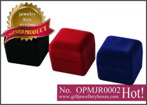 China OEM / ODM plastic Photo Jewelry Boxes, photo music box, single diamond ring box with photo playing on sale