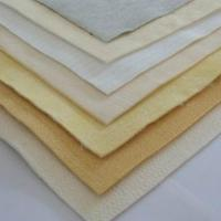 China Fiber glass needle felt filter cloth and blended filter material on sale