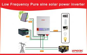 China Low Frequency 1 - 6kw Home Solar Power System Off - Gird 3kw 220V on sale