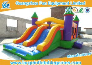 China Simple Inflatable Bouncy Castle House Bouncer For Kids Jumping PVC Tarpaulin on sale
