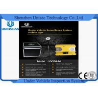 Hig resolution CCD camera UV300m under vehicle inspection system from Uniqscan