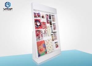 China Promotional Market Cardboard Sidekick Displays , Christmas Gifts Cardboard POP Displays on sale