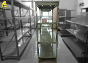 China Straight Arm Anti Corrosion Industrial Storage Shelves Racks Gray Colour 2.4M High on sale
