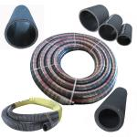 anti-static electricity high pressure fuel oil suction and delivery rubber hose with steel helix