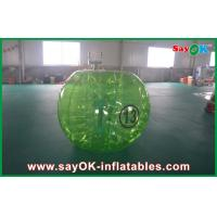 Outdoor Lawn Inflatable Sports Games , 1mm TPU Inflatable Human Bubble Ball