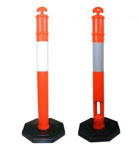 China Flexible Elasticity Traffic Plastic Warning Post on sale