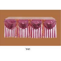 CHEAP PRICE!! Wholesale white round plain polyester weddingtablecloth (Y-41)