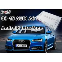 Android Navigation Multimedia System for 3G MMI Audi A6L, A7 , Q5 with Built-in WIFI , On-line Map