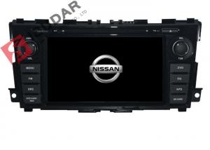 China 7 Inch Flat Screen Car Radio Dvd Player , Nissan TEANA In Dash Navigation With Backup Camera on sale
