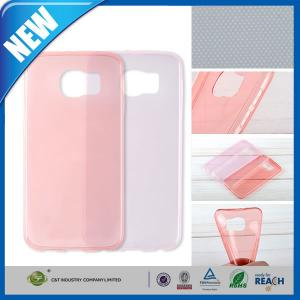 China 0.3mm Ultra Thin Soft Tpu Gel Silicone Rubber Back Case Skin For Galaxy S6 G9200 on sale
