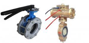 China butterfly wafer valve on sale
