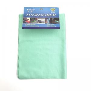 "China Stemware use Microfiber Cleaning Cloth 280gsm Microfiber Glass Towel  20'' x 16"" on sale"